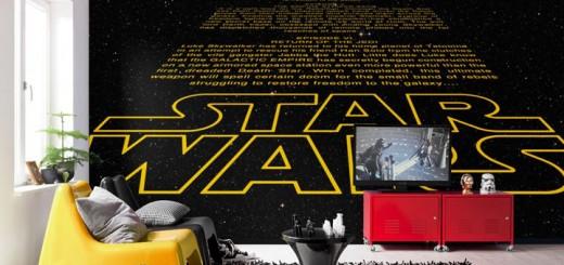 Star Wars Crawl Wandtapete - Bild: Posters.de